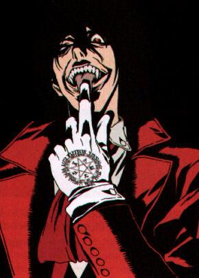 le coin manga, comics... Hellsing